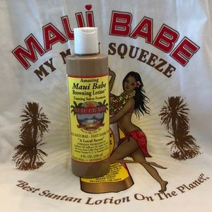 Maui Babe Salon Tanning Lotion